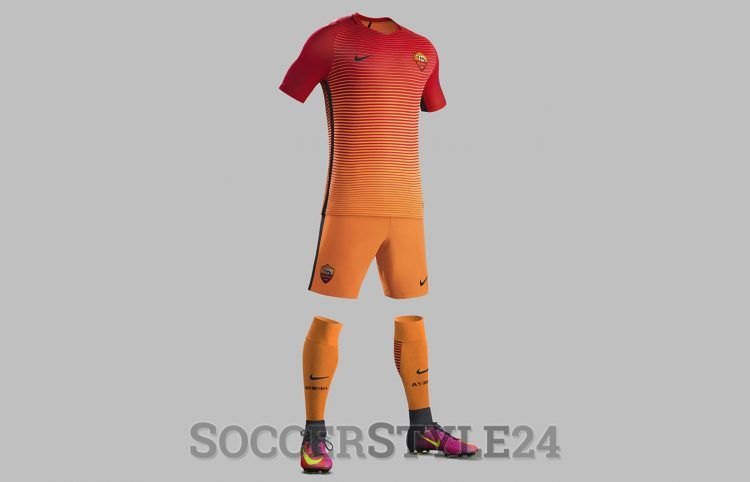 AS Roma, terza divisa 2016-2017 Nike