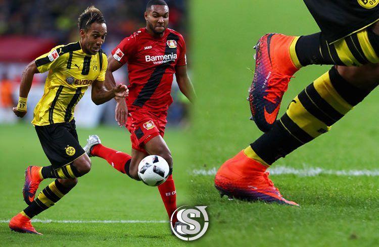 Pierre Aubameyang (Borussia Dortmund) - Nike HyperVenom Phantom II
