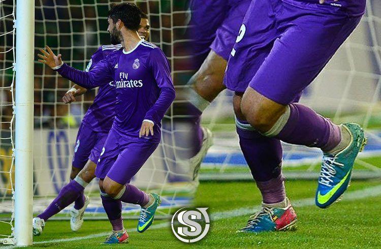 Isco (Real Madrid) - Nike Mercurial Vapor IX