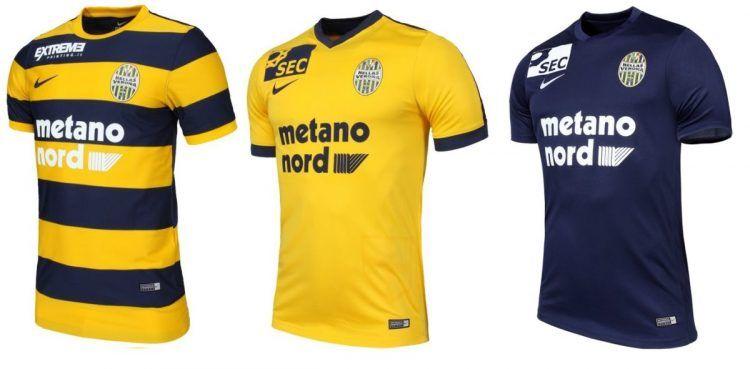 Maglie Hellas Verona 2016-2017 Nike