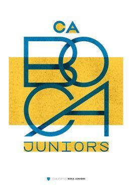 Boca Juniors Poster Lawerta