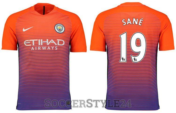 Terza maglia Manchester City 2016-2017