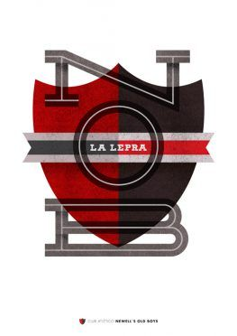 Newell's Old Boys Poster Lawerta