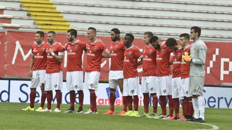 Formazione Perugia 2016-2017 schierata