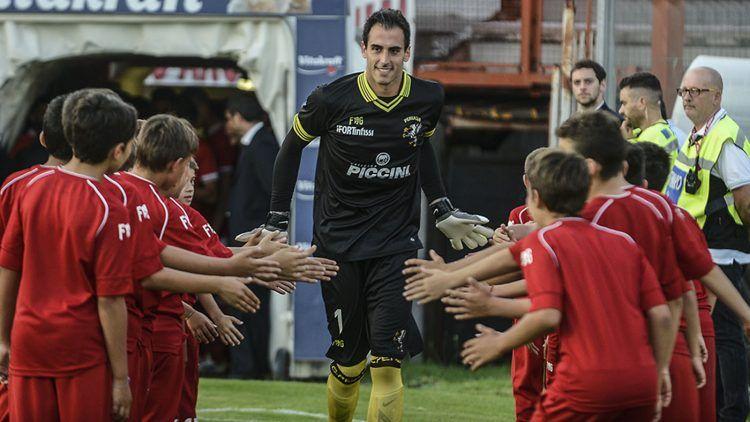 Perugia, Maglia Portiere FG Sport 2016-2017, Antonio Rosati