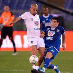 Scontro Maradona-Veron - Partita per la Pace 2016