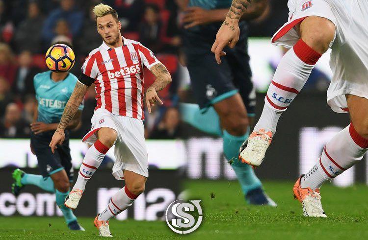 Marko Arnautovic (Stoke City) - Puma EvoSpeed 1.5