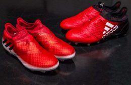X16 PureChaos e Messi 16 PureAgility Red Limit