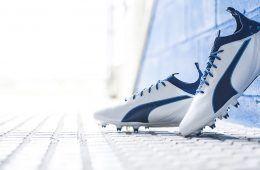 Presentazione scarpe Puma evoTouch bianche e blu