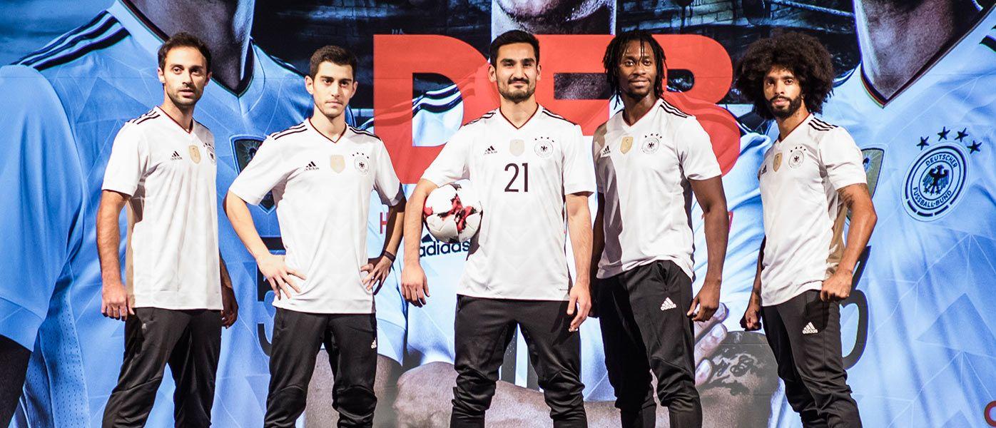 Presentazione nuova maglia Germania Confederations Cup 2017