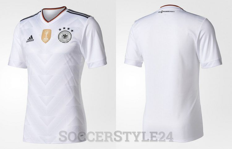 Maglia Germania Confederations Cup 2017 home