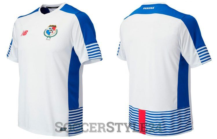 Seconda maglia Panama 2017-18 bianca