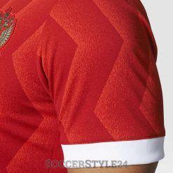 Pattern zig-zag maglia Russia Confederations Cup 2017
