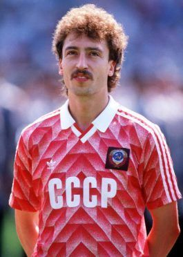 Sergei Aleinikov maglia Unione Sovietica 1988