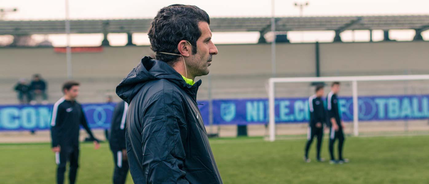 Luis Figo, Nike Academy Milano