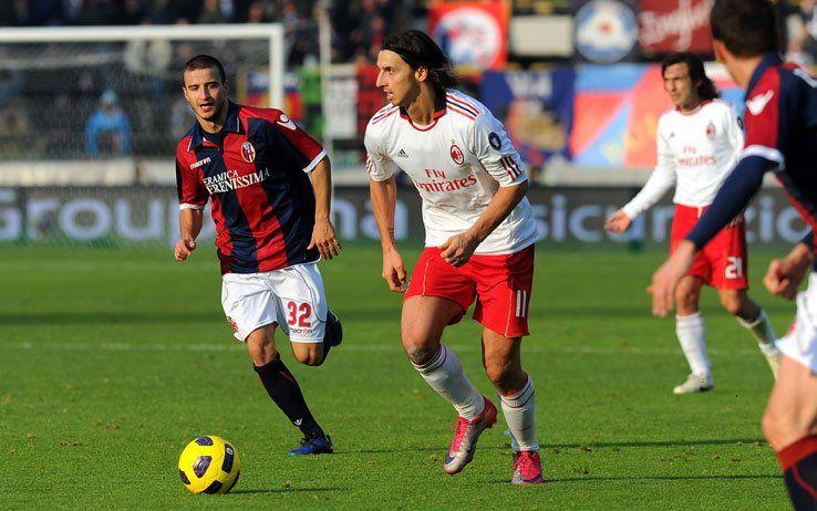 Bologna-Milan 2010-2011 Ibrahimovic