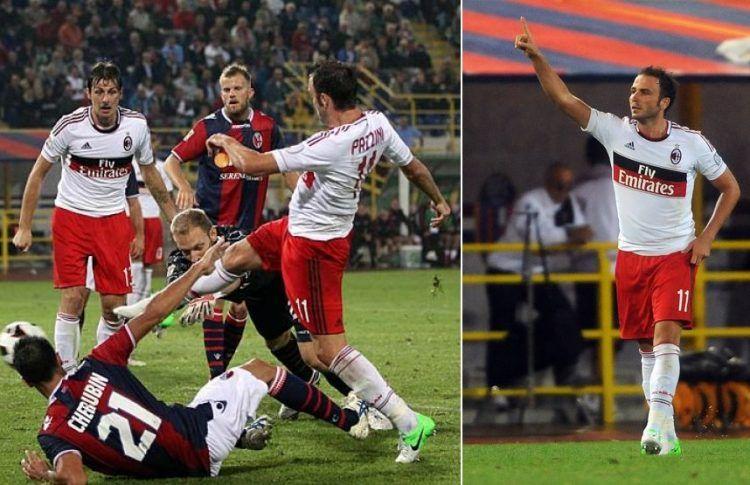 Bologna-Milan 2012-2013 - Pazzini
