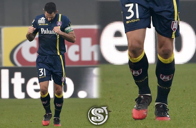 Sergio Pellissier (Chievo Verona) - adidas ACE 17.1 Pelle