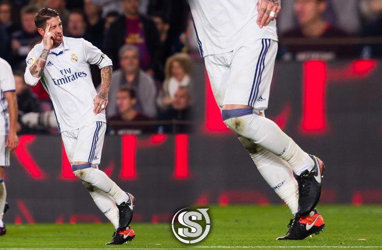 Sergio Ramos (Real Madrid) - Nike Tiempo Legend VI