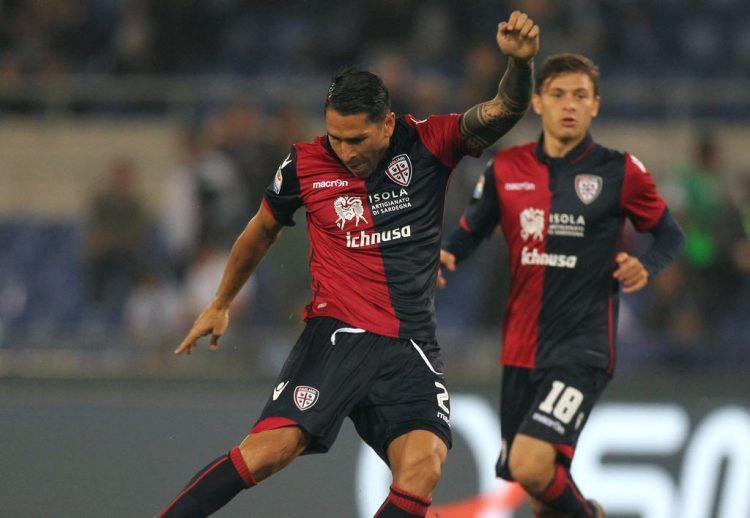 Marco Borriello maglia Cagliari