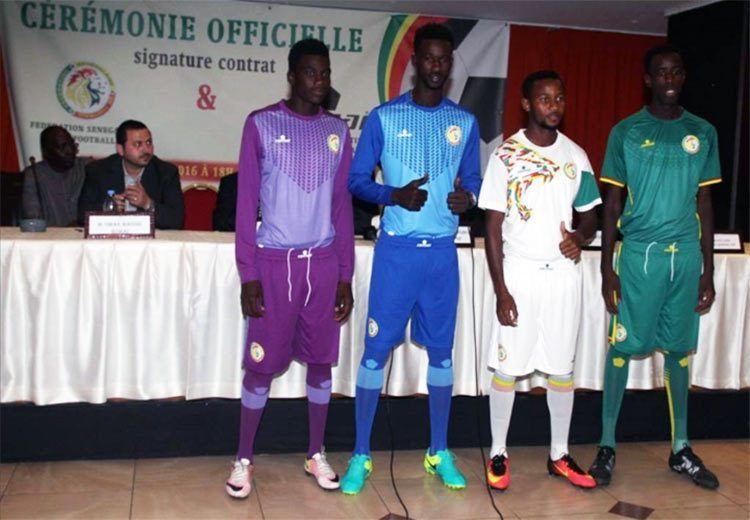 Divise Senegal 2017 Coppa d'Africa