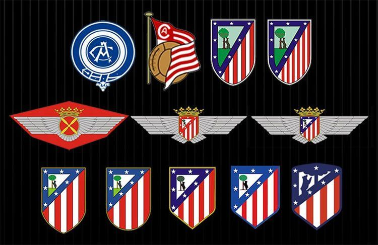 Storia logo Atletico Madrid