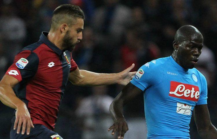 Patch Serie A - Napoli-Genoa