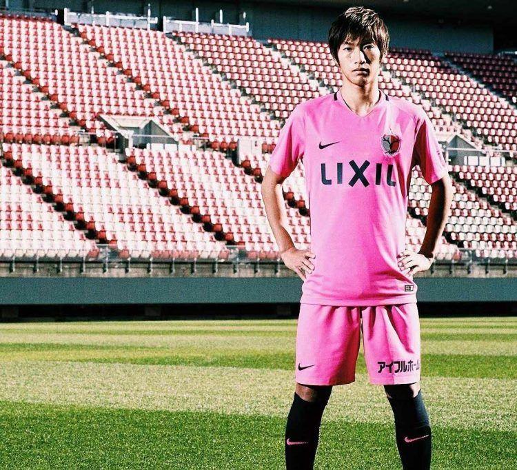 Kashima Antlers kit away 2017 pink
