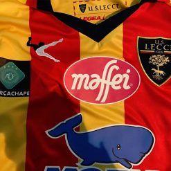 Maglia Lecce con logo Forza Chape