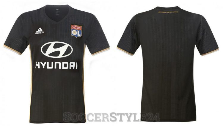 Terza maglia Lione 2016-2017