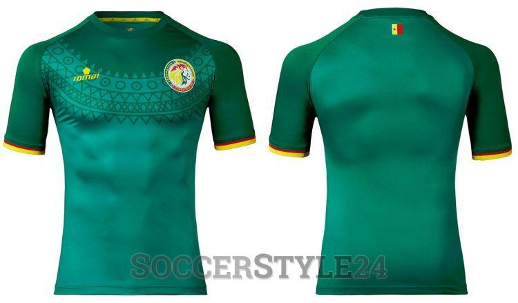 Seconda maglia Senegal 2017 bianca