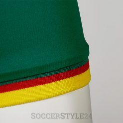 Senegal dettaglio manica maglia away