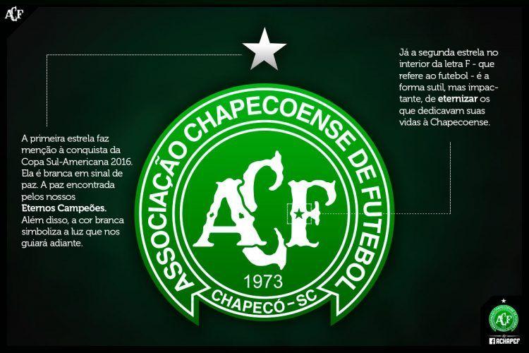 Nuovo logo Chapecoense 2016