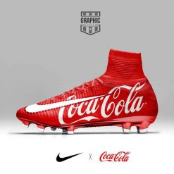 "Nike Mercurial Superfly ""Coca Cola"""