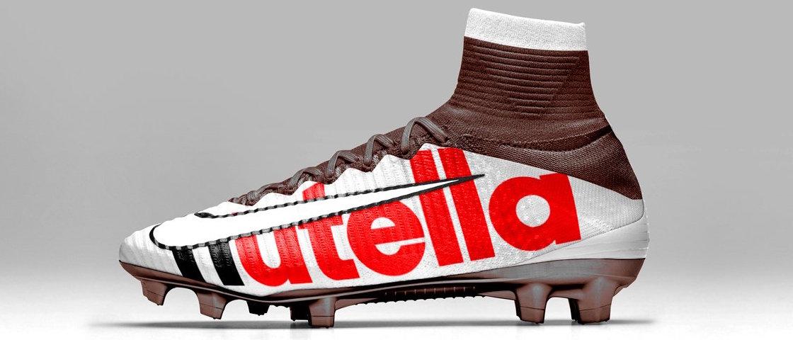 Scarpe calcio brand famosi Nutella