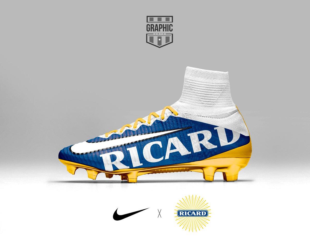 I brand più famosi sponsorizzano le scarpe da calcio Nike e