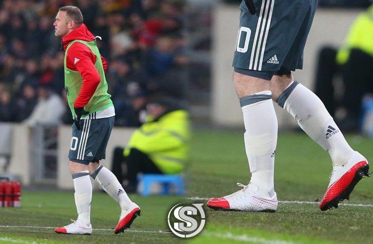 Wayne Rooney (Manchester United) - Nike HyperVenom Phinish WR250