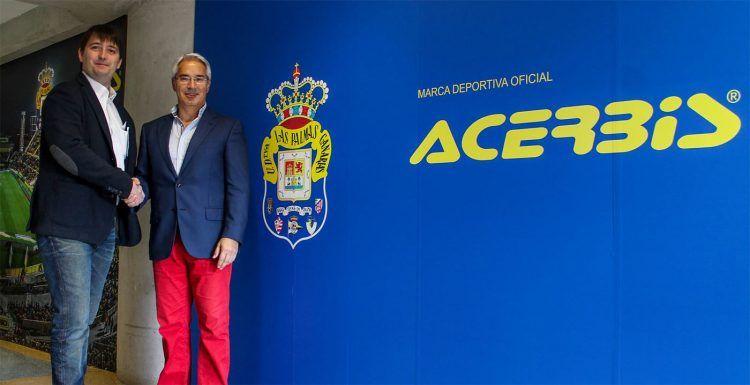Accordo Las Palmas-Acerbis fino al 2019