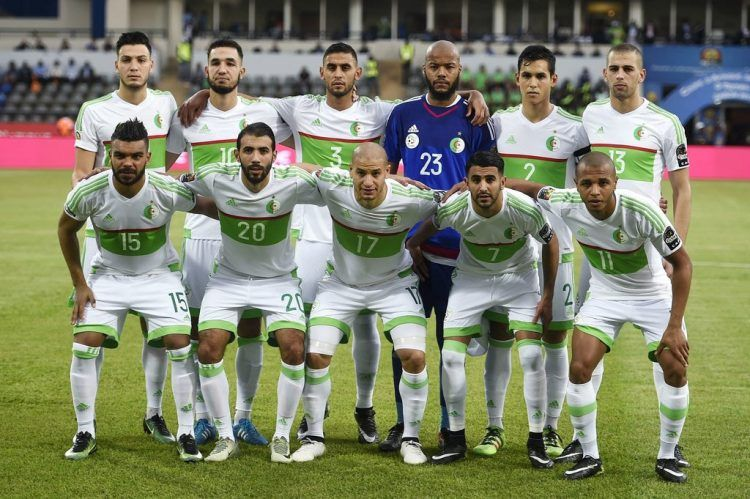 Kit Algeria 2017 Coppa d'Africa