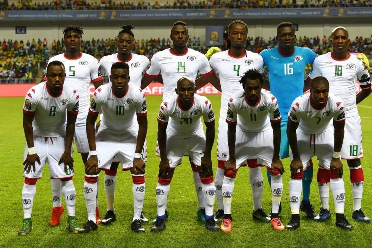 Formazione Burkina Faso Coppa d'Africa 2017