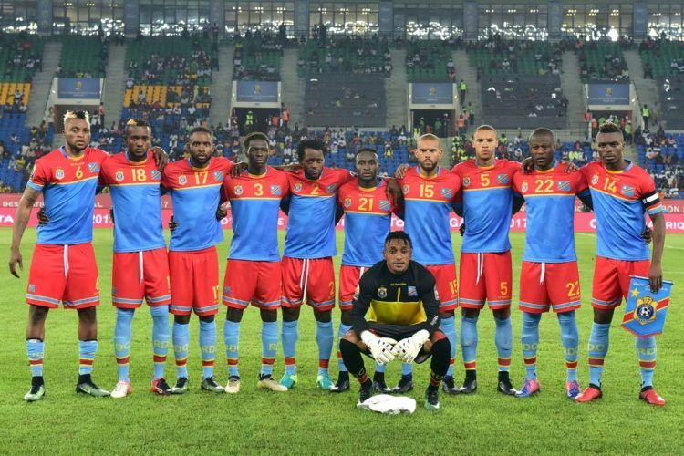 Kit RD Congo 2017 Coppa Africa