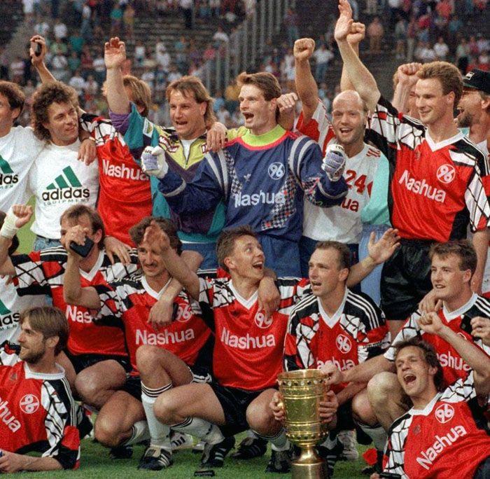 Hannover 96, Vittoria Coppa di Germania 1992
