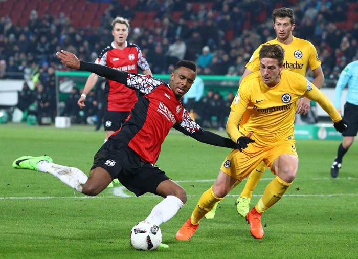 Hannover 96 vs Eintracht Francoforte, Coppa di Germania 2016-2017