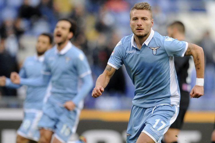 Immobile maglia Lazio