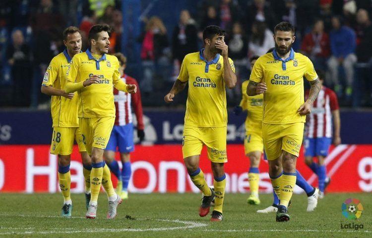 Divisa Las Palmas gialla 2016-17