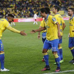 Esultanza Boateng gol Las Palmas