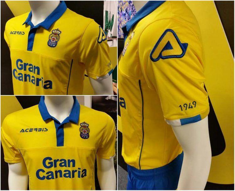 Maglia Las Palmas 2016-2017