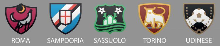 Roma, Samp, Sassuolo, Torino e Udinese