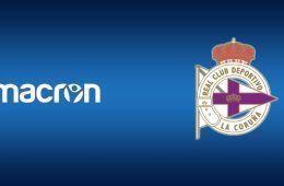 Macron sponsor tecnico Deportivo La Coruna