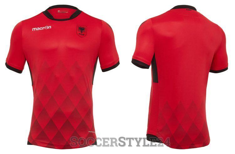 Maglia Albania 2017-2018 home rossa